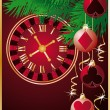 Royalty-Free Stock Vector Image: Christmas casino background. vector illust