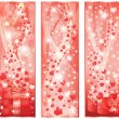 Valentines day banners. vector illustration — Vector de stock #4659351