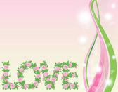 Auguri amore. illustrazione vettoriale — Vettoriale Stock