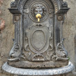 Historical fountain. Assisi. Umbria. — Stock Photo
