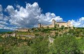 Albornoz pevnosti. Spoleto. Umbrie. — Stock fotografie