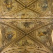 Ceiling St. Lorenzo Cathedral. Perugia. Umbria. — Stock Photo #3934038