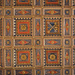 Stock Photo: Panelled Ceiling St. Pietro Basilica. Perugia. Umbria.