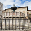 Fontana Maggiore. Perugia. Umbria. — Stock Photo