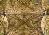 Ceiling St. Lorenzo Cathedral. Perugia. Umbria. — Stock Photo