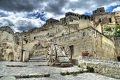 View of Matera. Basilicata. — Stock Photo