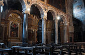 Interior St. Pietro Basilica. Perugia. Umbria. — Photo
