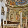 Cathedral Interior. Spoleto. Umbria. - ストック写真