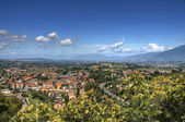 Panoramic view of Spoleto. Umbria. — Stock Photo