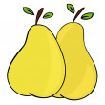 Pears. — Stock Vector