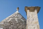 Trullo. Alberobello. Apulia. — Stock Photo