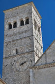 St. Rufino Belltower Cathedral. Assisi. Umbria. — Stock Photo