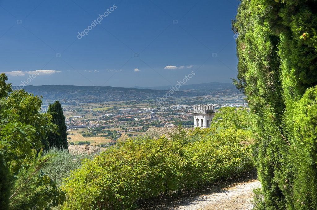 View of Assisi. Umbria. — Stock Photo #4027914