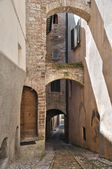 Alleyway. Spello. Umbria. — Stock Photo