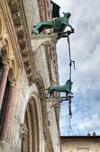 Consul Palace. Perugia. Umbria. — Stock Photo