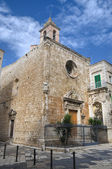 Madonna di Costantinopoli Church. Giovinazzo. Apulia. — Stock Photo