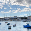 Panoramic view of Bari. Apulia. - Stock Photo
