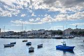 Panoramic view of Bari. Apulia. — Stock Photo