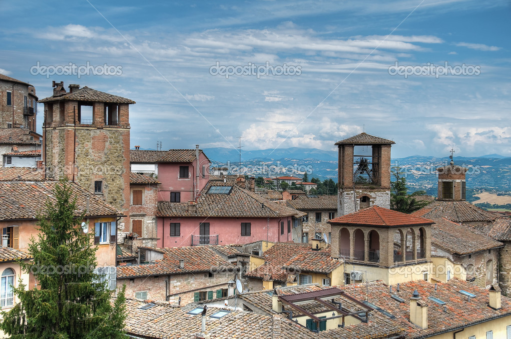 View of Perugia. Umbria. — Stock Photo #4085395