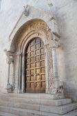 Cathedral. Bisceglie. Apulia. — Stock Photo