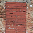 Stock Photo: Wooden door.