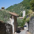 Stock Photo: Alleyway. Gubbio. Umbria.