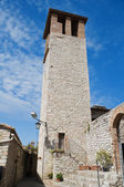 Civic tower. Corciano. Umbria. — Stock Photo