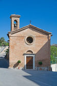 St. Maria del Serraglio Church. Corciano. Umbria. — Stock Photo