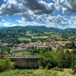 Panoramic view of Spoleto. Umbria. — Stock Photo
