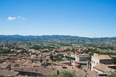 Panoramic view of Gubbio. Umbria. — Zdjęcie stockowe