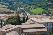Panoramic view of Spoleto. Umbria. — Zdjęcie stockowe