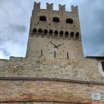 Porta St. Agostino. Montefalco. Umbria. — Stock Photo