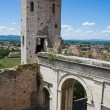 Tower of Properzio. Spello. Umbria. — Stock Photo