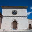 Church of St. Maria di Vallegloria. Spello. Umbria. — Stock Photo