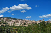 Panoramic view of Spello. Umbria. — Stockfoto