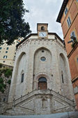 St. Ercolano Church. Perugia. Umbria. — Stock Photo