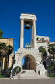 War Memorial. Sannicandro di Bari. Apulia. — Stock Photo