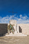 Sea Memorial. Giovinazzo. Apulia. — Stock Photo