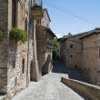 Royalty-Free Stock Photo: Alleyway. Spello. Umbria.