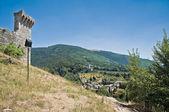 Rocca Maggiore. Assisi. Umbria. — Stock Photo
