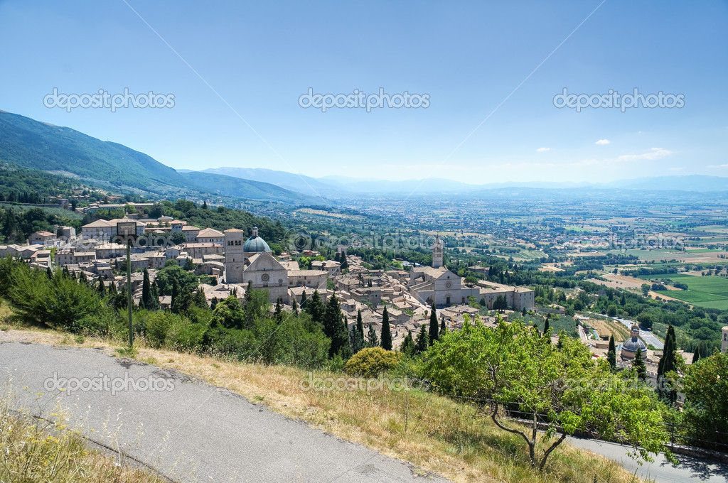 View of Assisi. Umbria. — Stock Photo #4326076