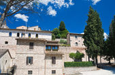 Panoramic view of Spello. Umbria. — Foto de Stock