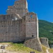 Albornoz fortress. Assisi. Umbria. — Stock Photo