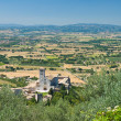 Panoramic view of Assisi. Umbria. — Stock Photo #4385995