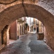 Alleyway. Palo del Colle. Apulia. — Stock Photo