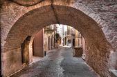 Alleyway. Palo del Colle. Apulia. — Stock Photo