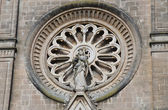 Rose window. — Stock fotografie