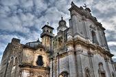 Historical churches. gioia del Colle. Apulia. — Stock Photo