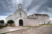 圣玛丽亚 di barsento 教堂。noci。阿普利亚. — 图库照片
