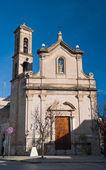 St. Luigi Church. Bitritto. Apulia. — Stock Photo